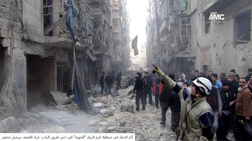 الإئتلاف الوطني السوري المعارض يتهم المجتمع الدولي بالتغاضي عن مجازر حلب