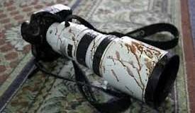 إعلاميون أحرار بعد السيطرة على مشفى العيون أحد أهم سجون داعش في حلب