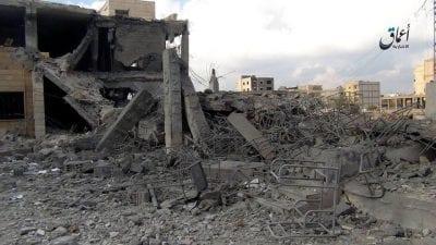 ثلاث ضربات جوية لقوات التحالف على محافظة الرقة
