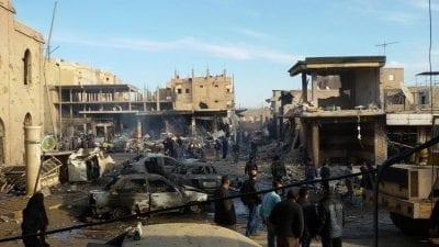 23 مدنياً قتلوا بغارات للنظام على الرقة