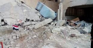 النظام يستهدف مضايا بالبراميل