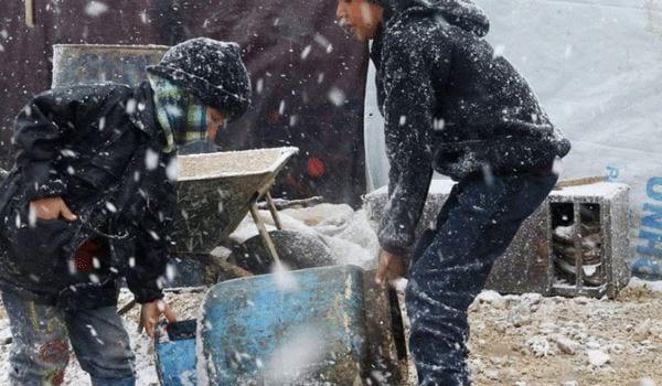 إضراب عن الطعام في مخيمات أطمة