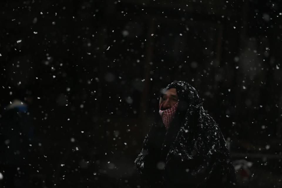 البرد يقتل معمّر سوري بلغ 114 عاماً