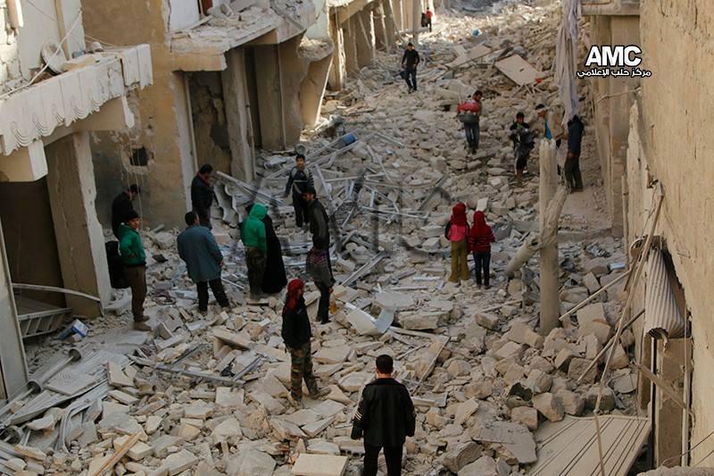 اشتباكات في مدينة حلب.. والنظام يستهدفها بـ 20 صاروخاً قصير المدى