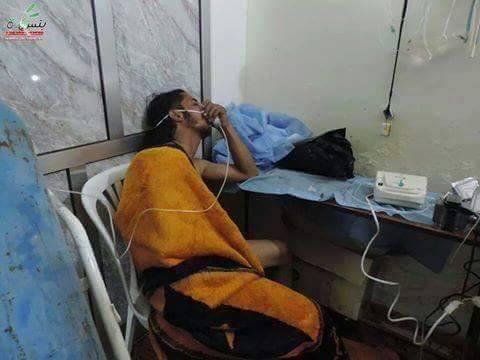 النظام يقصف ريف إدلب بالمواد السامة.. و110 إصابات و9 ضحايا