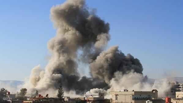 قصف بالمواد السامة والبراميل المتفجرة على إدلب