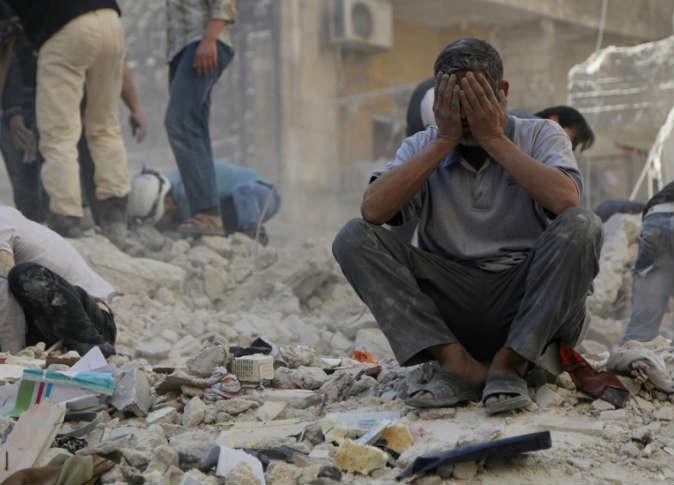 قصف مكثف على حلب وإدلب.. وسقوط العديد من الضحايا