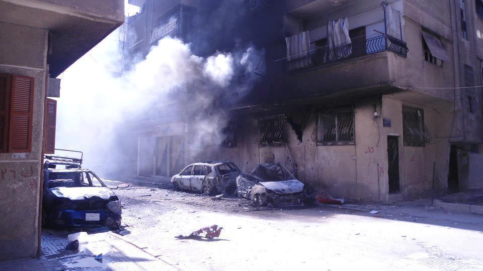 بعد هدوء لساعات: داعش يقصف نقاط المعارضة جنوب دمشق