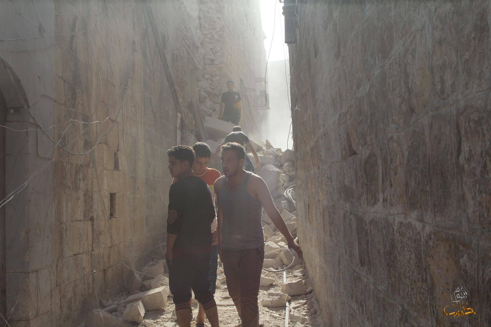حلب: قصف على المدينة وريفها.. واستمرار الاشتباكات مع داعش
