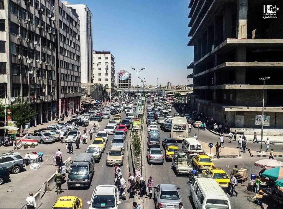 هاون على شارع الثورة بدمشق.. وسقوط قتلى وجرحى من المدنيين