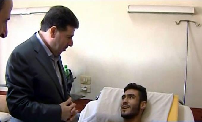 بتوجيهات من الأسد: الحلقي يزور خطوط الجبهة الأمامية في حلب