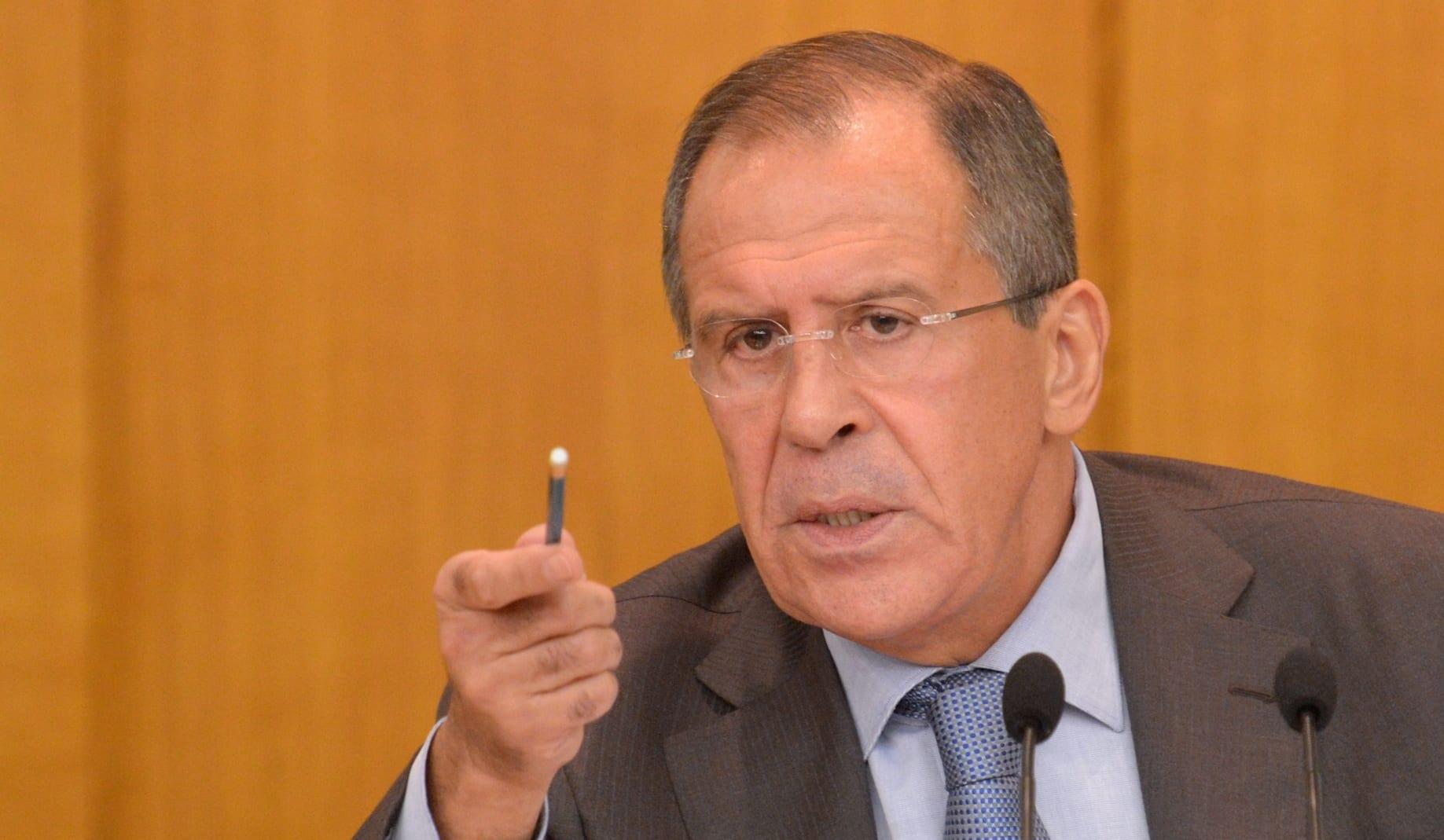 """لافروف: مشكلة الكيماوي في سوريا """"حلّت بنجاح"""".. والاتهامات الموجهة للنظام """"لا أساس لها"""""""