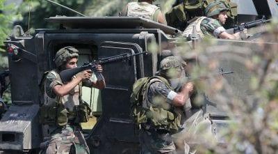 الجيش اللبناني يحبط محاولة تسلل عناصر من داعش إلى أراضيه