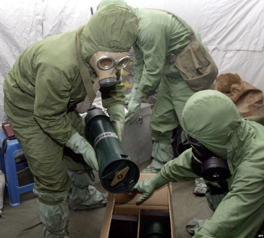 مسؤول عسكري إسرائيلي: الأسد مازال يمتلك 3 أطنان من الأسلحة الكيماوية