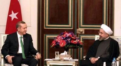 """أردوغان لروحاني: """"لا استقرار في سوريا دون تغيير الأسد"""""""