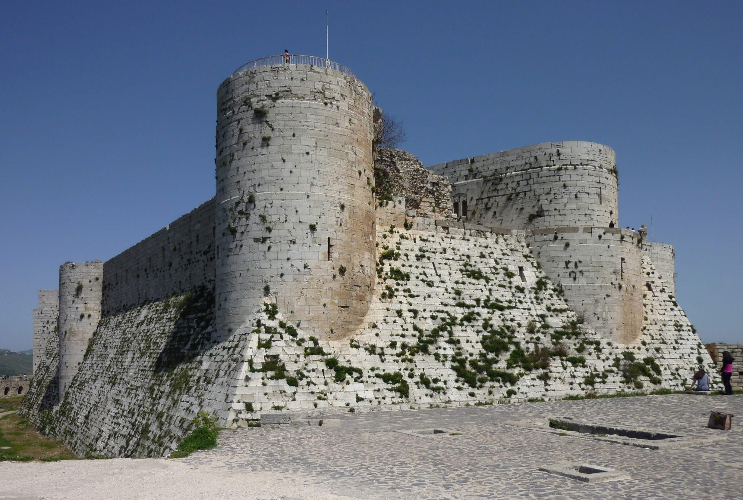 البدء بترميم قلعة الحصن بتمويل من الحكومة السورية