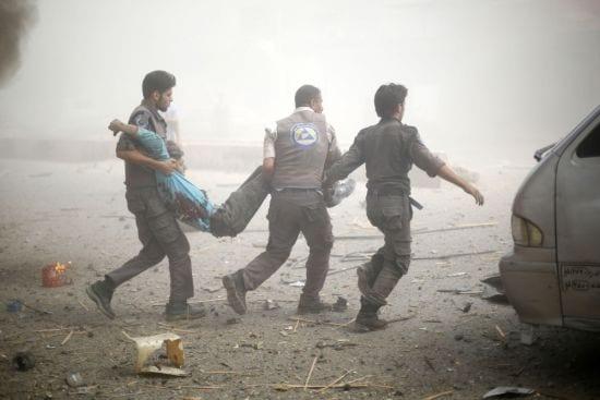 قتلى وجرحى في قصف جوي على الغوطة الشرقية