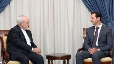 بعد لقائه حسن نصرلله: ظريف يلتقي الأسد في دمشق