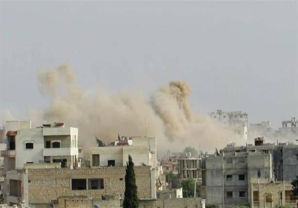 حمص: مقتل طفلتين بقصف النظام لمدينة القريتين.. و20 غارة له على تدمر