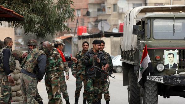 النظام ينفذ حملة اعتقالات واسعة في القلمون الغربي