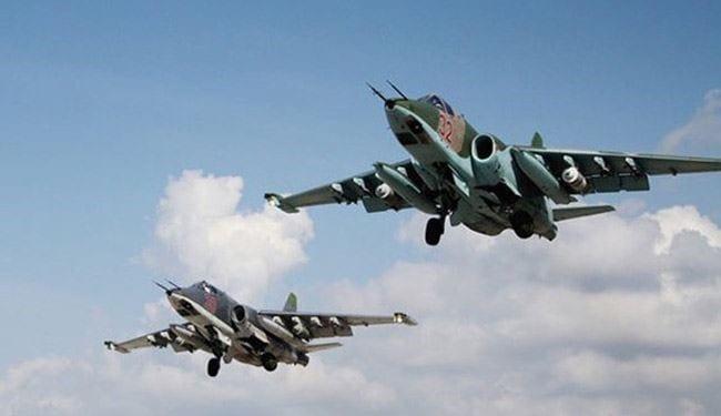 22 قتيلاً بقصف روسي على منطقة العشارة في ديرالزور