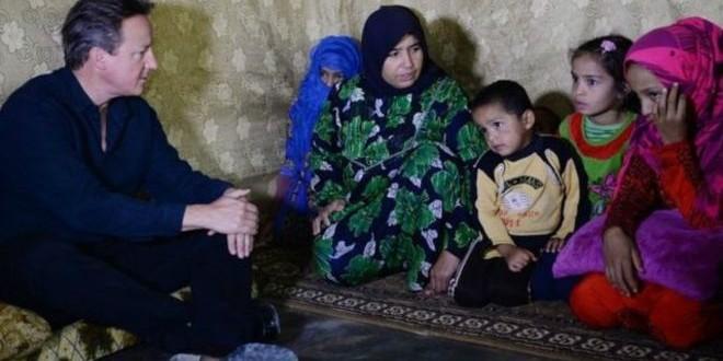بريطانيا تستقبل أول دفعة من اللاجئين السوريين