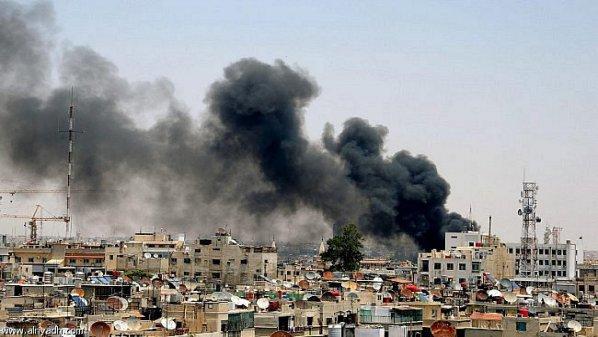 اتهامات للنظام باستخدام الغازات السامة في جوبر.. ومقتل شخص في حمورية