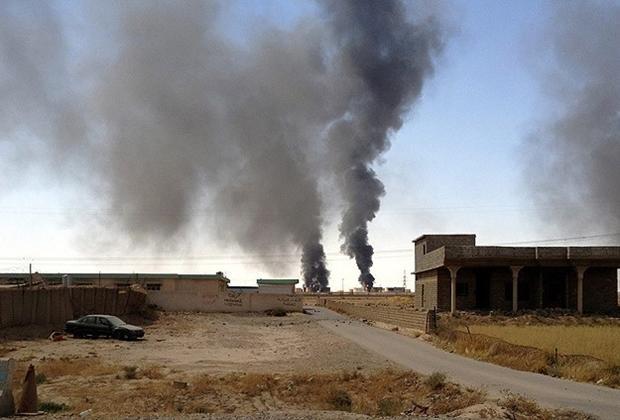 الوحدات بالتعاون مع التحالف الدولي تستهدف تجمعات لداعش في ريف الرقة