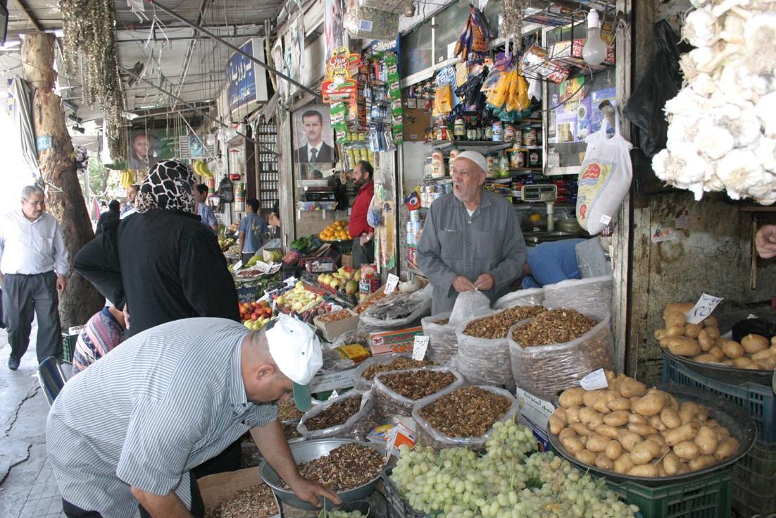 توقعات بانخفاض أسعار الخضار في أسواق دمشق الشهر القادم