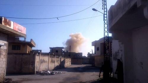 النظام يقصف قلعة المضيق بريف حماة.. ومقتل امرأة ورجل.. وإصابة آخرين