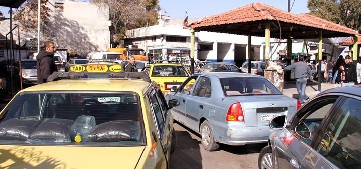 شركة المحروقات تنفي وجود أزمة بنزين في دمشق