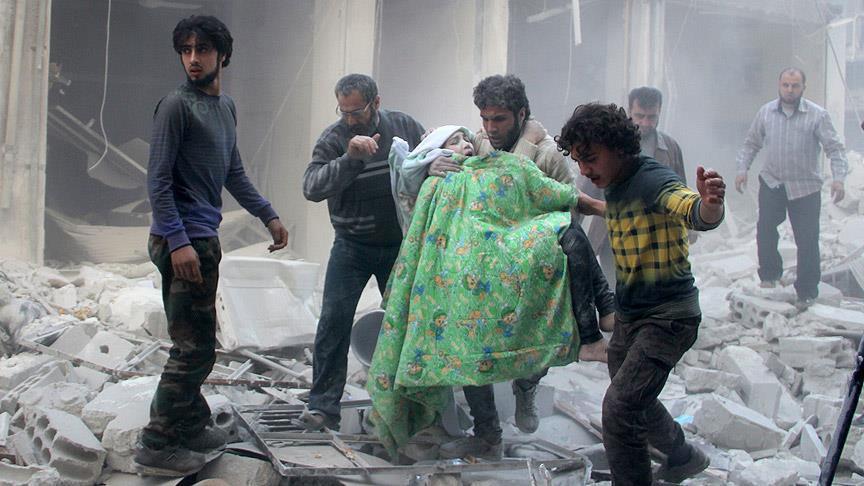 مقتل عشرات المدنيين بقصف جوي على حلب.. وجيش الفتح يتقدم بريفها الجنوبي
