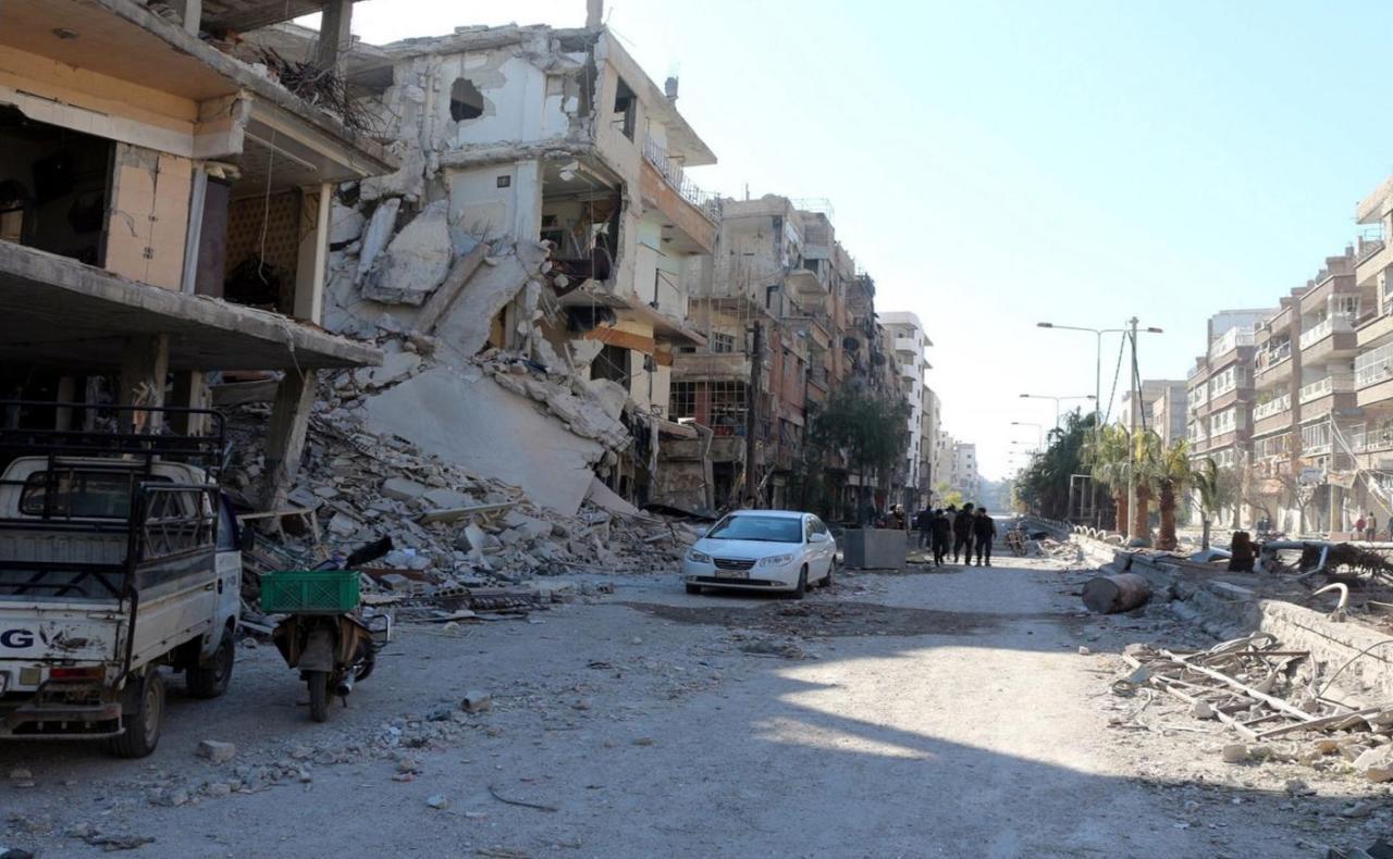 """معضمية الشام تتعرض لـ """"حصار إبادة"""" ومناشدات للمنظمات الدولية لفك الحصار"""