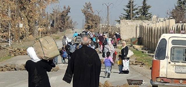 الجبهة الجنوبية تسمح للمدنيين في حوض اليرموك بالخروج لشراء حاجاتهم