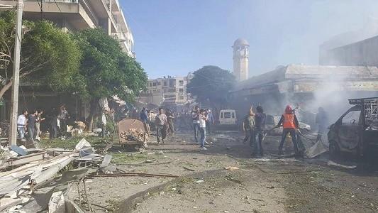مقتل 38 مدنياً بحلب و5 بإدلب جراء قصف مشترك للنظام والطيران الروسي