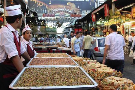 تعرف على أسعار حلويات العيد في أسوق العاصمة دمشق
