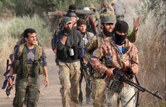 داعش يشن هجوماً على بلدة المدّورة بريف درعا