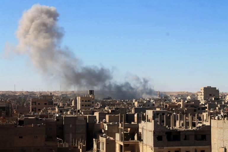 ديرالزور: ارتفاع حصيلة ضحايا القصف على البوليل.. وداعش يعيد فتح مقاهي الإنترنت بالريف الغربي