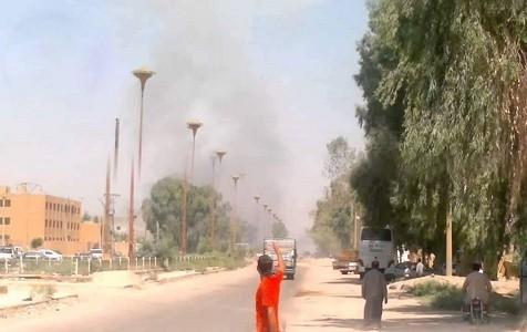 الطيران الحربي يقصف سيارة مدنية في دير الزور.. ومقتل وإصابة مدنيين