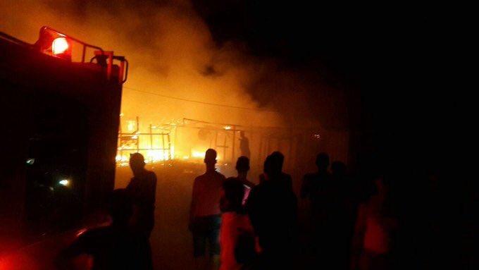 حرق خيام لاجئين سوريين في لبنان.. والسلطات تتعقب أحد المشتبهين