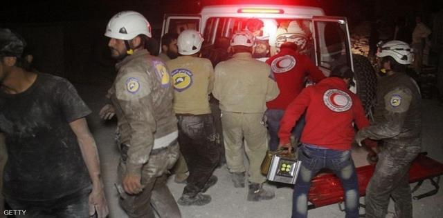 """مجدداً: """"الطيران الروسي"""" يقتل 5 متطوعين من فرق الإسعاف جنوب حلب"""