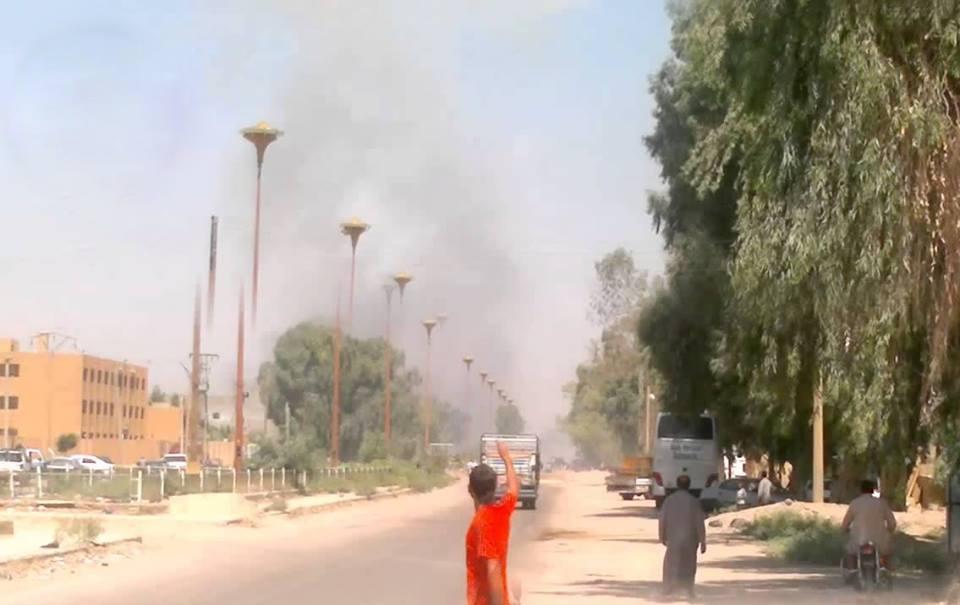 خمسة قتلى باستهداف طيران التحالف قرية الشعفة في دير الزور