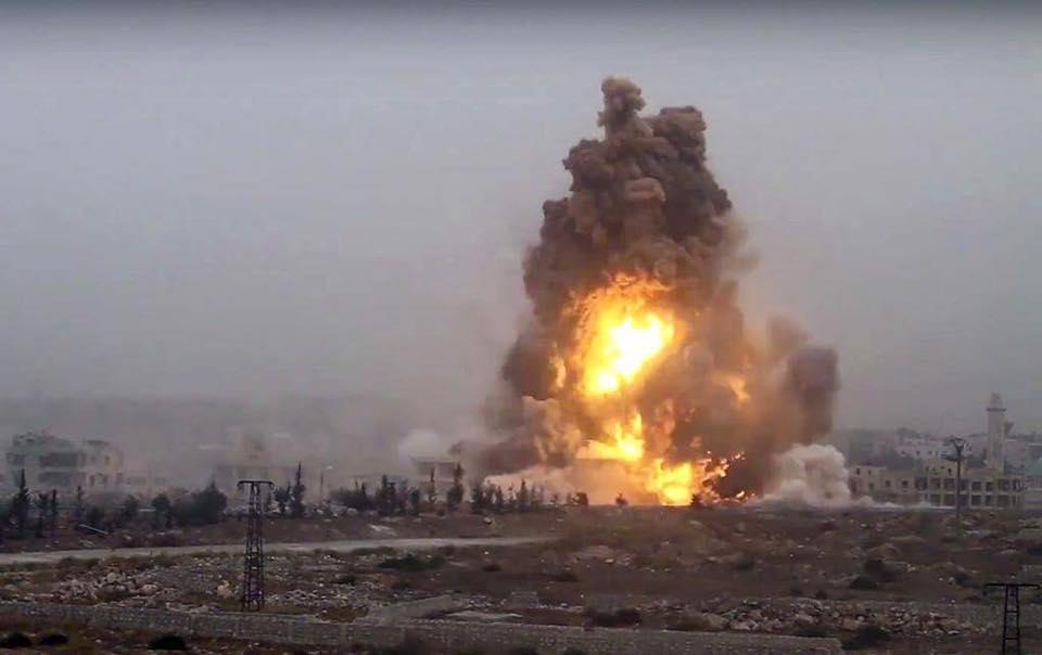 حلب: المعارضة تفجر مفخخة بحي 3000 شقة.. والنظام يستعيد مواقع خسرها في الزهراء