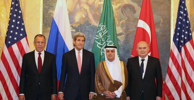 محادثات أمريكية روسية بشأن سوريا بحضور ممثلين عن السعودية وتركيا