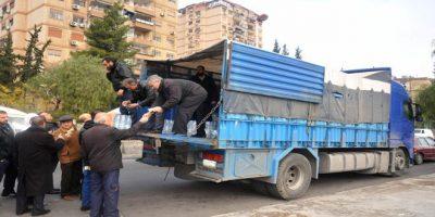 على خلفية أزمة المياه في دمشق الاستهلاكية تبيع عبوات بنحو 200 مليون ليرة خلال أسبوع