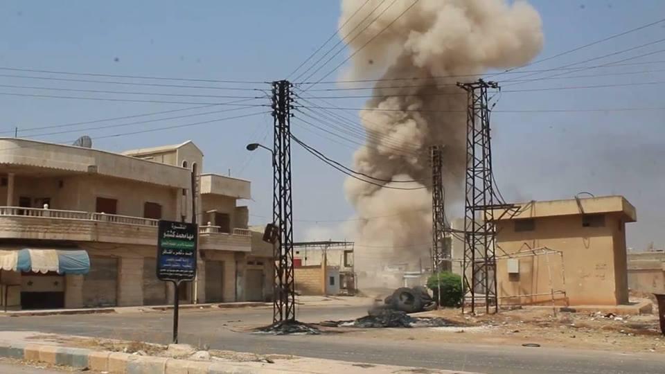 مقتل امرأتين وإصابة أخرى بقصف على محيط مدينة حلفايا بحماة