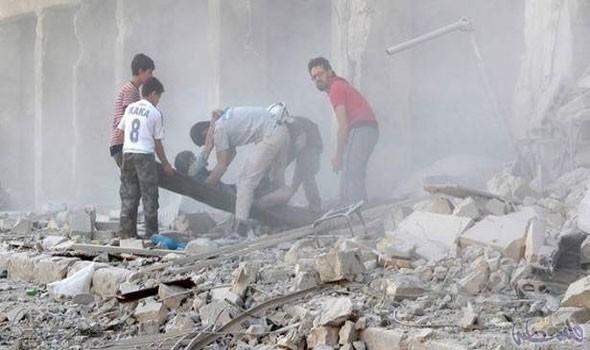 """أمريكا تتبنى استهداف """"القاعدة"""".. وقتلى مدنيون بالعشرات في ريف حلب"""