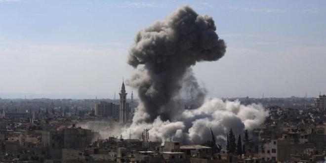 بينهم 18 طفلاً: مقتل عشرات المدنيين في الغوطة بقصف النظام على الملاجئ… واستهداف مباشر لطواقم الإسعاف