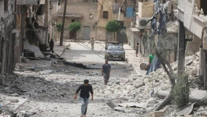 ضحايا بقصف جوّي روسي على بلدات بريف حلب