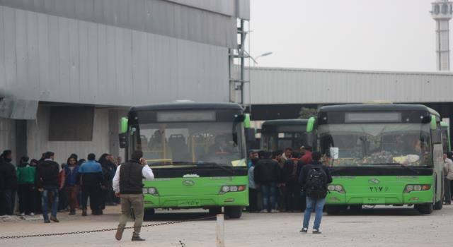 خروج الدفعة الثانية من أهالي ومقاتلي الزبداني ومضايا